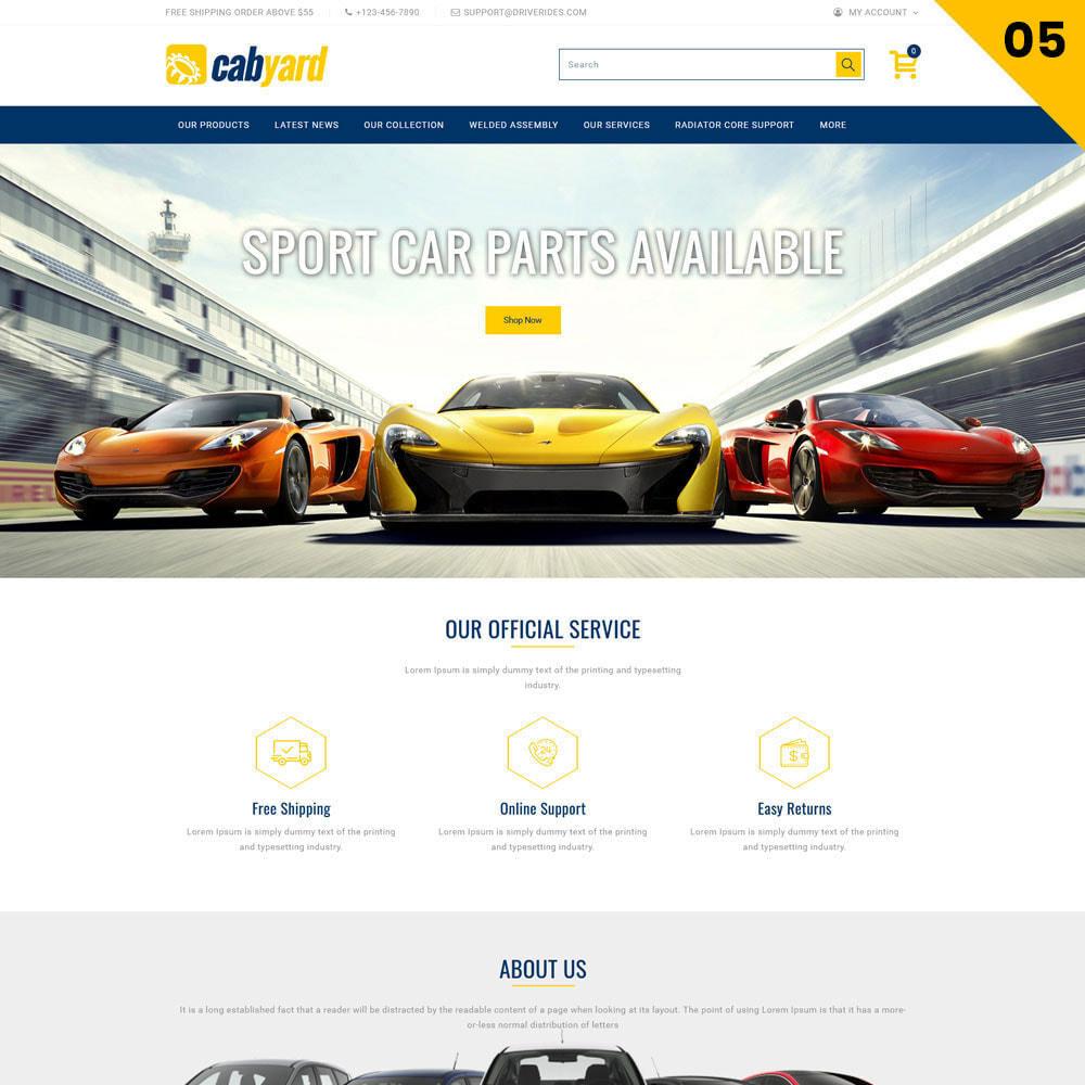 theme - Samochody - Cabyard - The Multishop Car Dealershop - 7