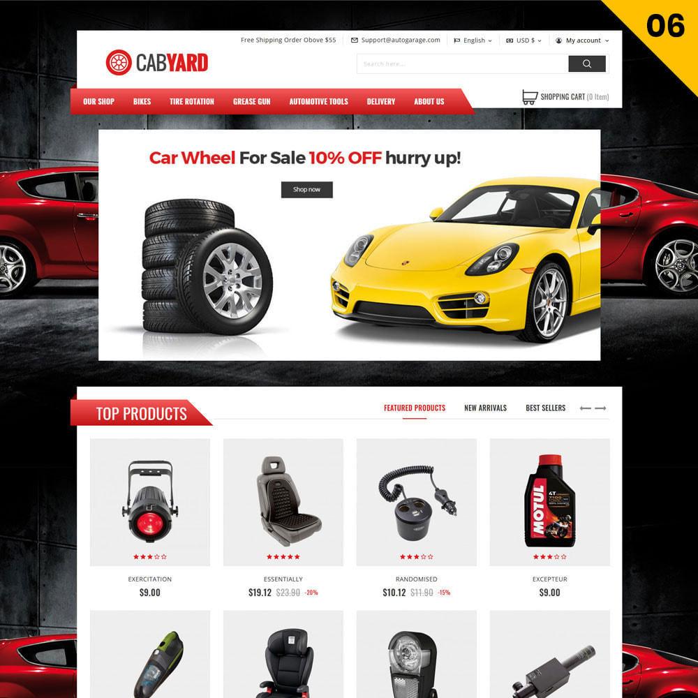 theme - Samochody - Cabyard - The Multishop Car Dealershop - 8