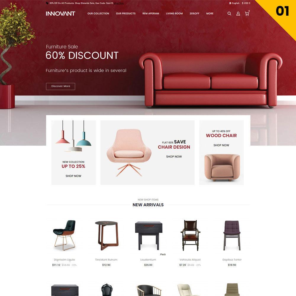 theme - Maison & Jardin - Innovant - Le magasin de meubles - 3