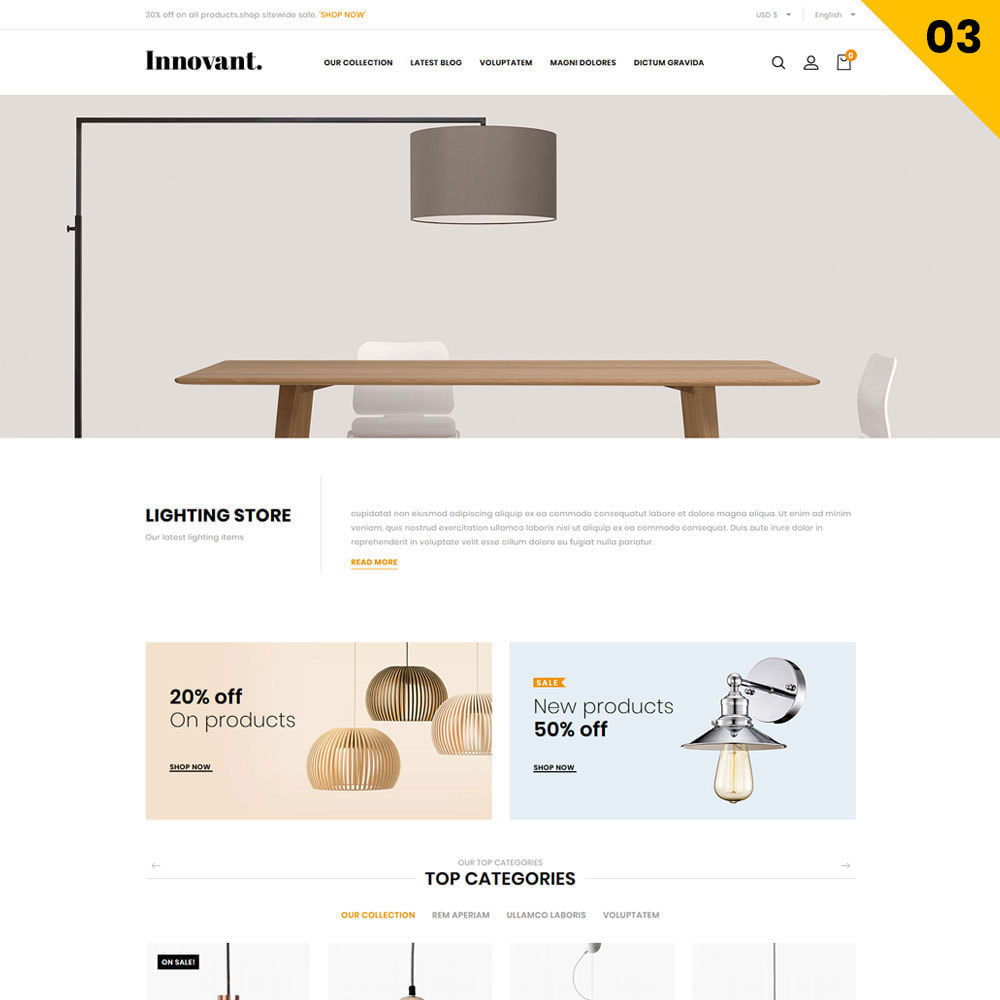 theme - Maison & Jardin - Innovant - Le magasin de meubles - 5