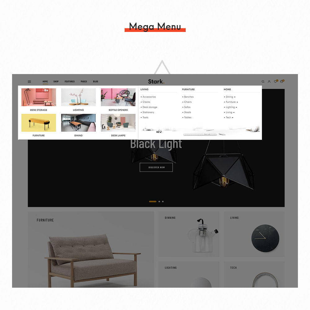 theme - Dom & Ogród - Stark - Furniture & Home Decor Elementor - 9