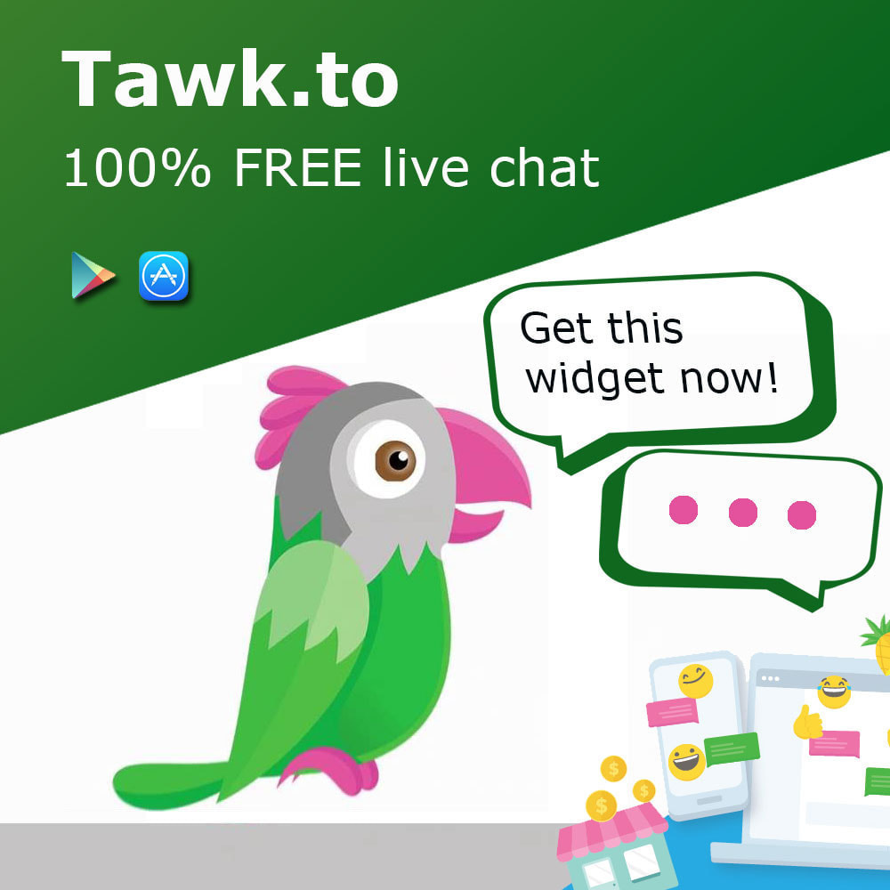module - Support & Online Chat - Tawk.to Free Multilanguage Live Chat - 1