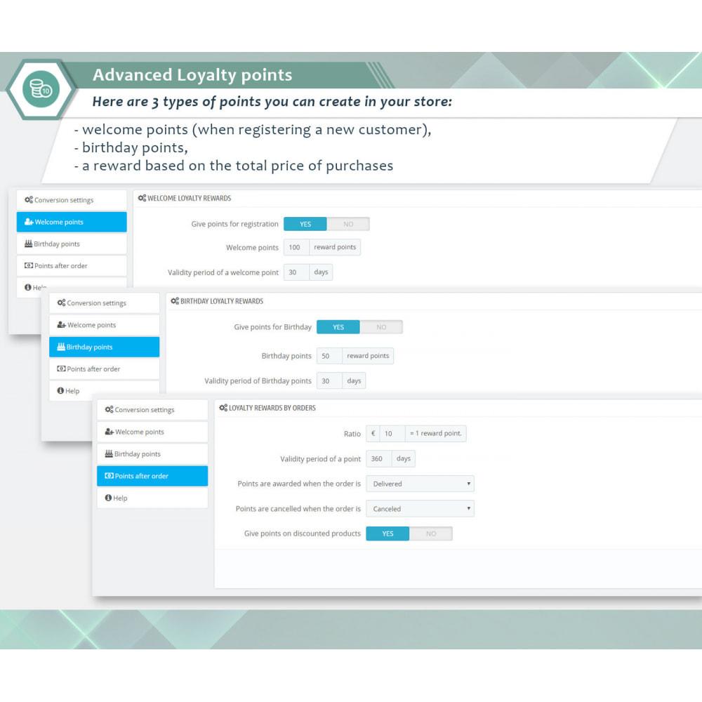 module - Fidelização & Apadrinhamento - Advanced Loyalty points - 4
