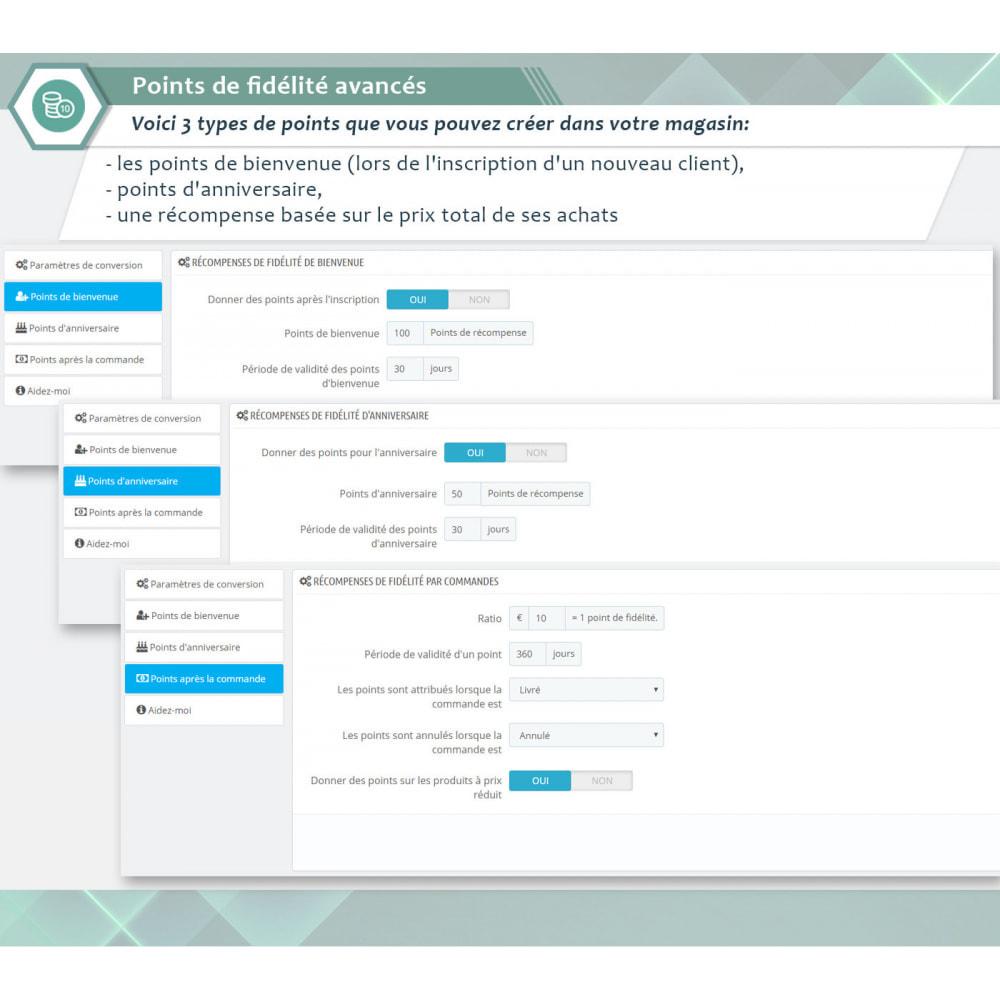 module - Fidélisation & Parrainage - Points de fidélité avancés - 5