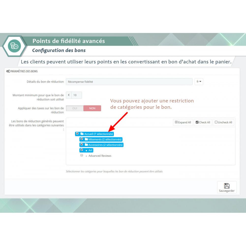 module - Fidélisation & Parrainage - Points de fidélité avancés - 7