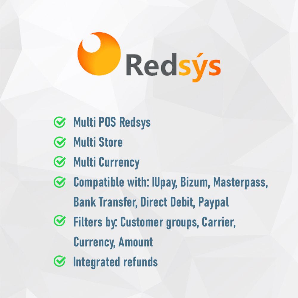 module - Paiement par Carte ou Wallet - REDSYS POS (Refunds + Bizum + Pay without order) - 2