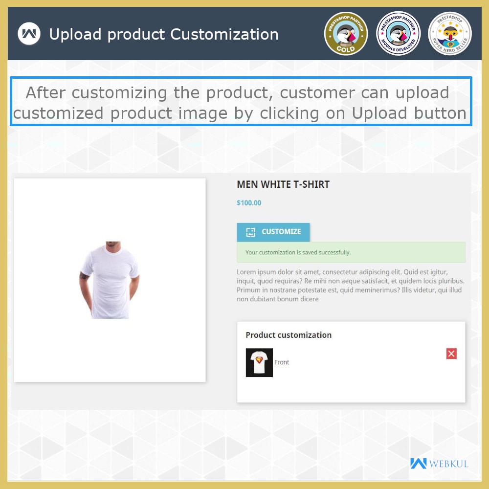 module - Versies & Personalisering van producten - Web to Print -  Product Customize - 8