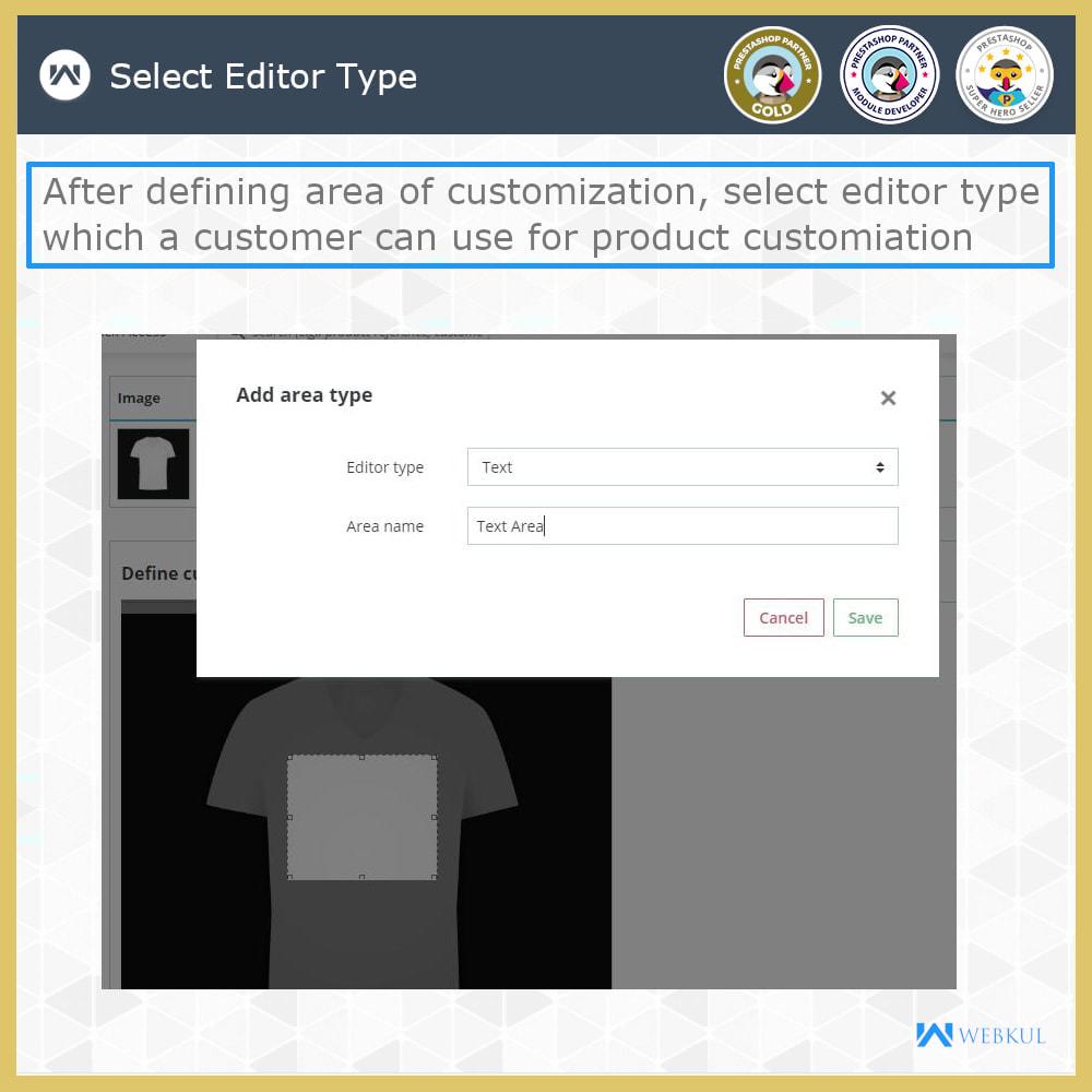 module - Versies & Personalisering van producten - Web to Print -  Product Customize - 12