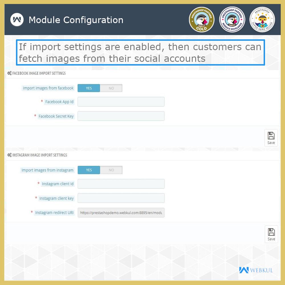 module - Versies & Personalisering van producten - Web to Print -  Product Customize - 13