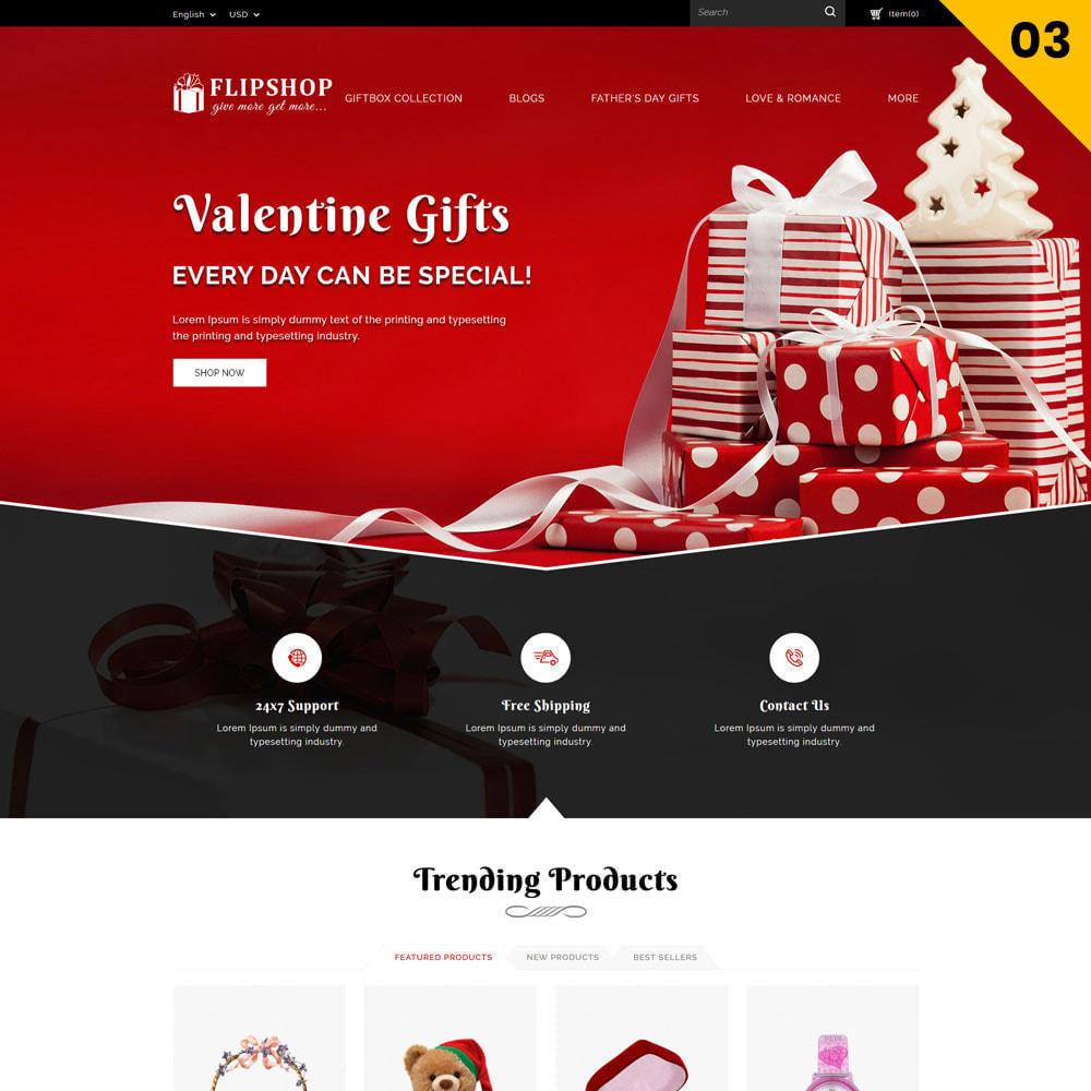theme - Подарки, Цветы и праздничные товары - Flipshop - The Gift Store - 5