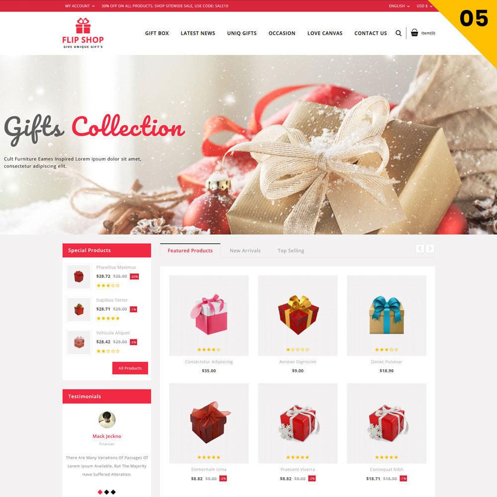 theme - Regali, Fiori & Feste - Flipshop - Il negozio di articoli da regalo - 8