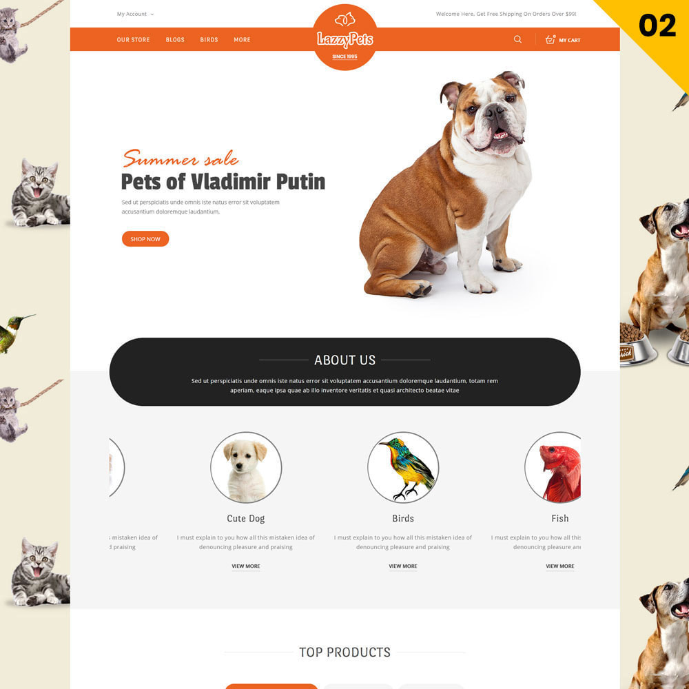 theme - Animals & Pets - lazzypets - The Animal Store - 4