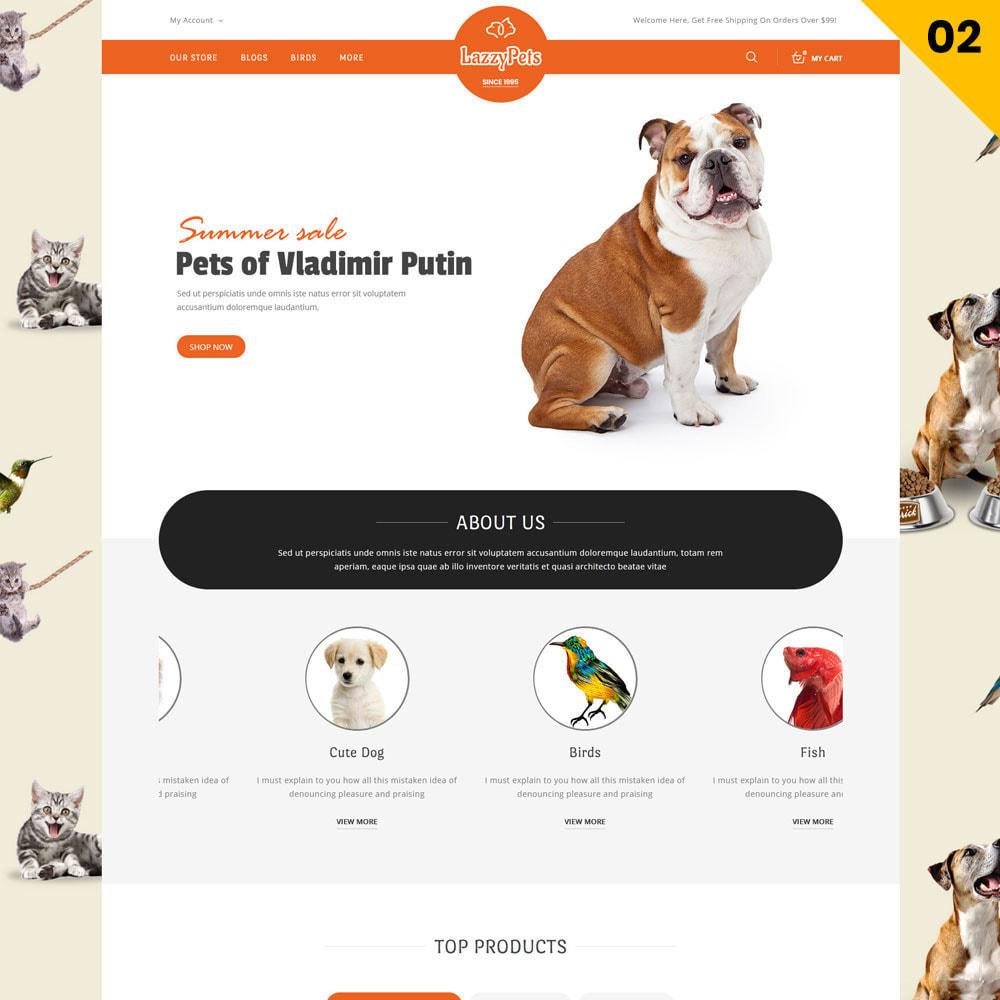 theme - Animaux - lazzypets - La boutique des animaux - 4