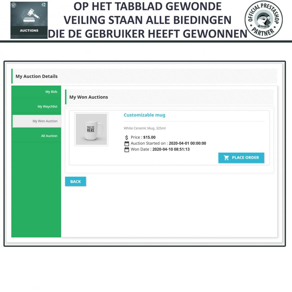 module - Bouw een veilingsite - Auction Pro, Online veilingen en biedingen - 22