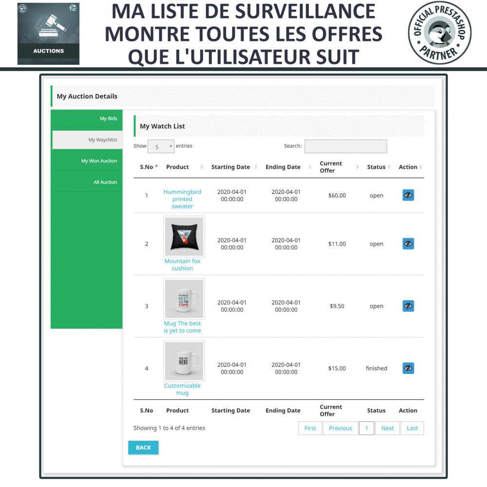 module - Site d'enchères - Enchères Pro - Système d'enchères en ligne - 21