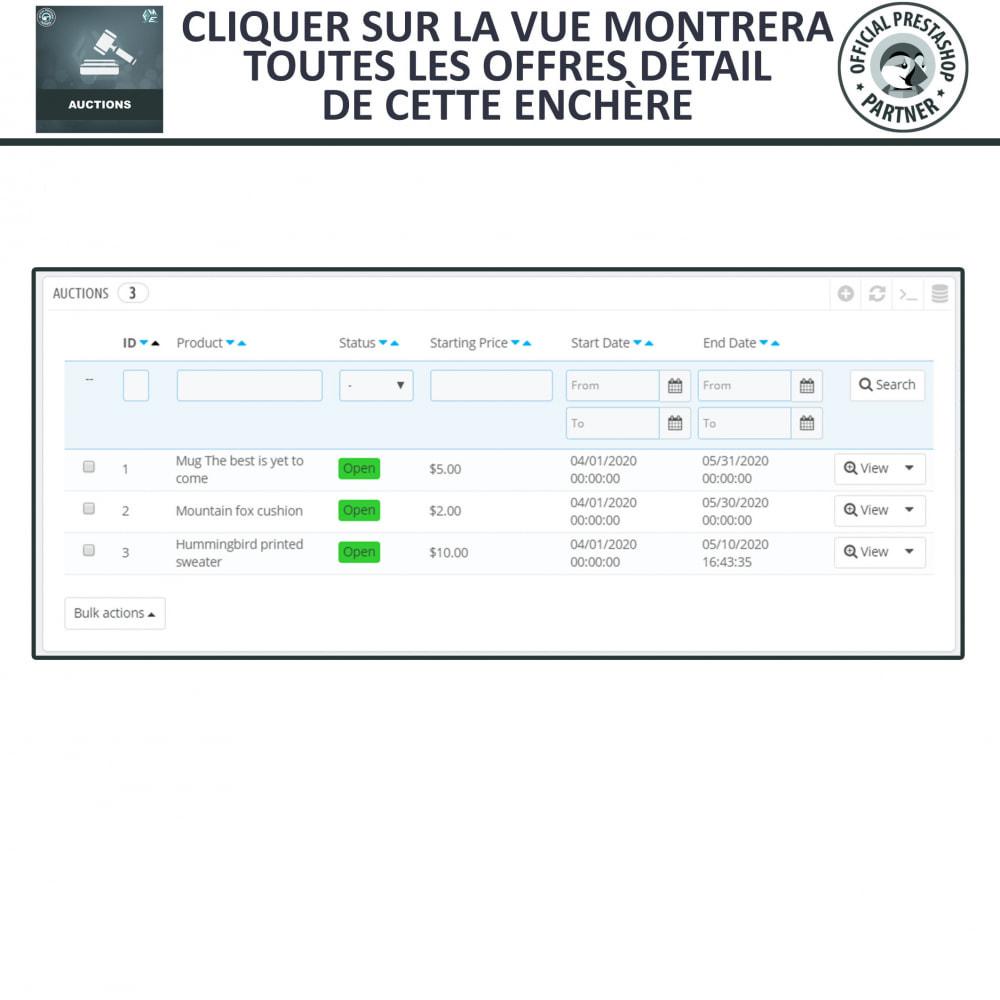 module - Site d'enchères - Enchères Pro - Système d'enchères en ligne - 23