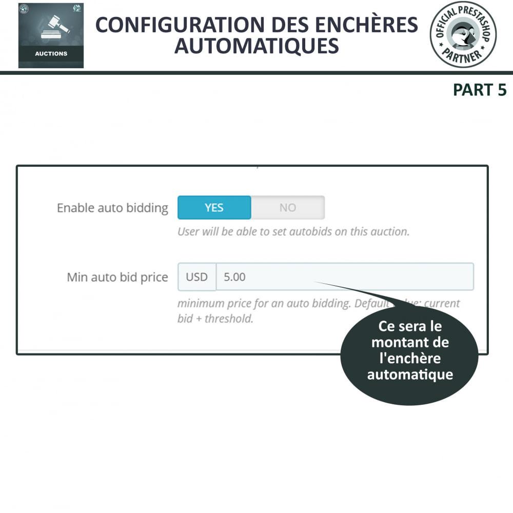 module - Site d'enchères - Enchères Pro - Système d'enchères en ligne - 13