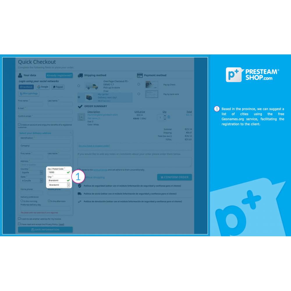 module - Szybki proces składania zamówienia - One Page Checkout PS (Easy, Fast & Intuitive) - 4