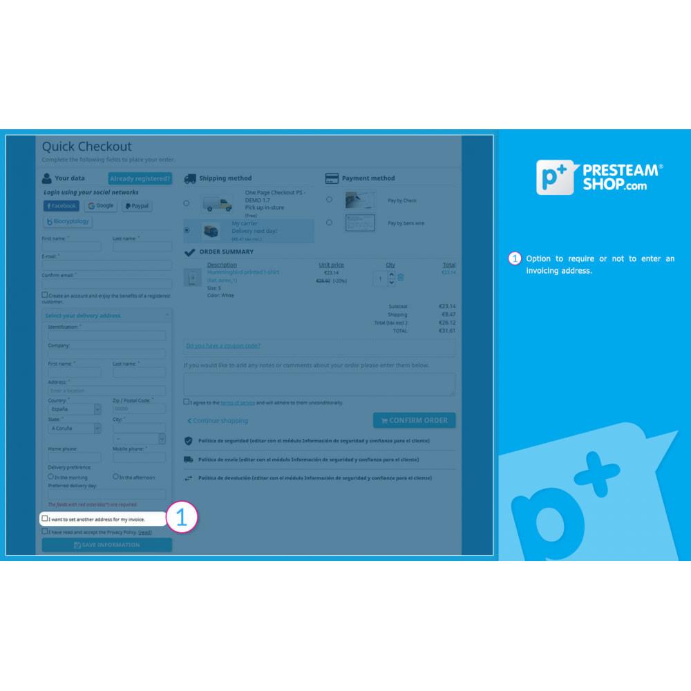 module - Szybki proces składania zamówienia - One Page Checkout PS (Easy, Fast & Intuitive) - 6