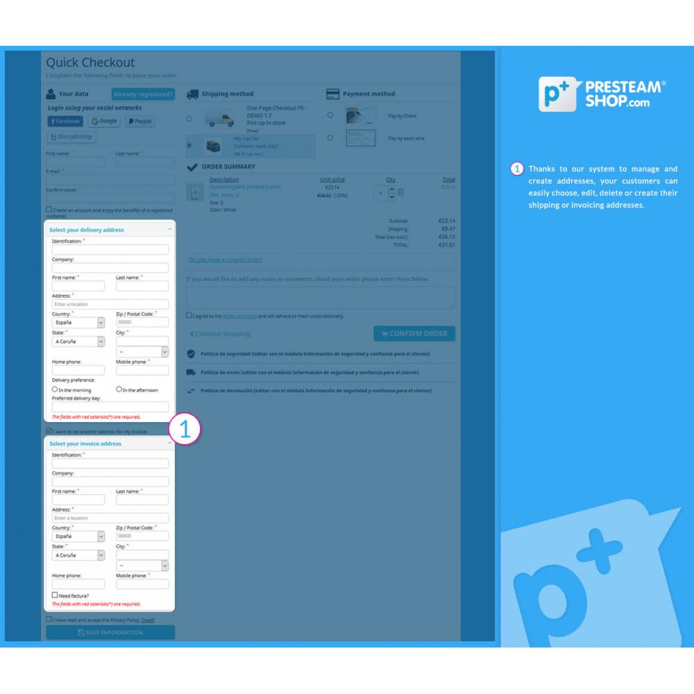 module - Szybki proces składania zamówienia - One Page Checkout PS (Easy, Fast & Intuitive) - 7