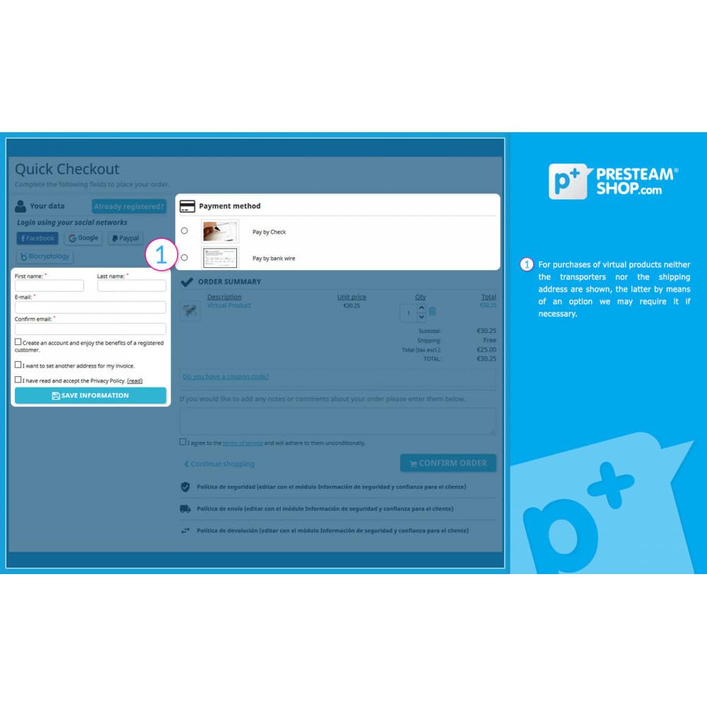 module - Szybki proces składania zamówienia - One Page Checkout PS (Easy, Fast & Intuitive) - 11