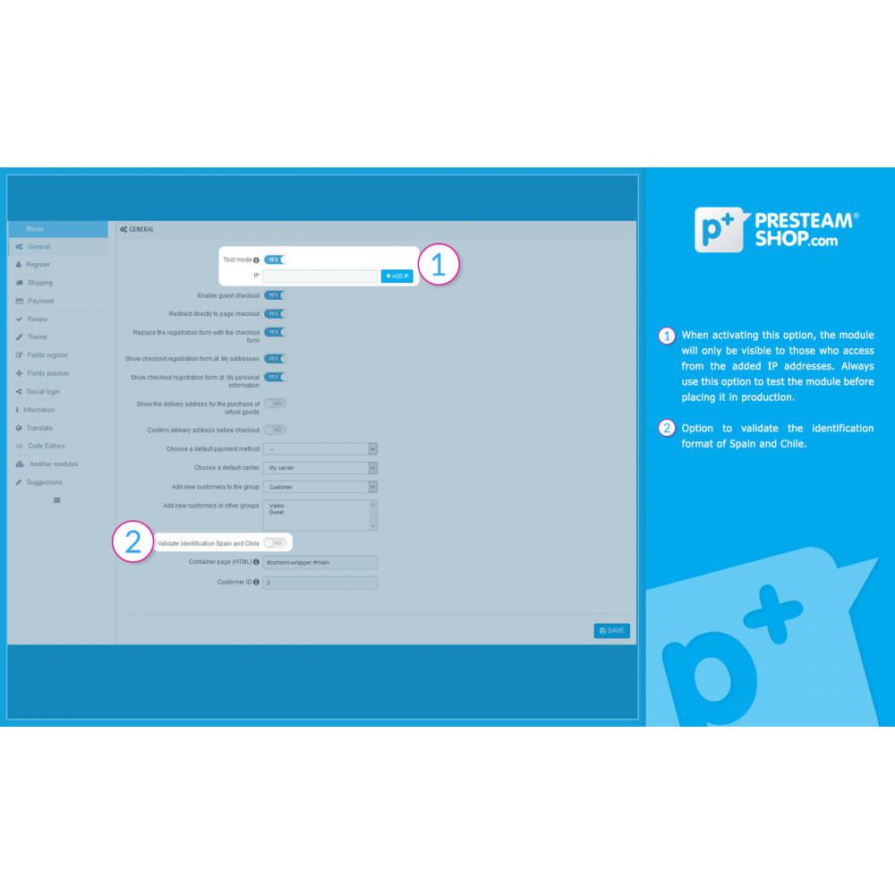 module - Szybki proces składania zamówienia - One Page Checkout PS (Easy, Fast & Intuitive) - 15