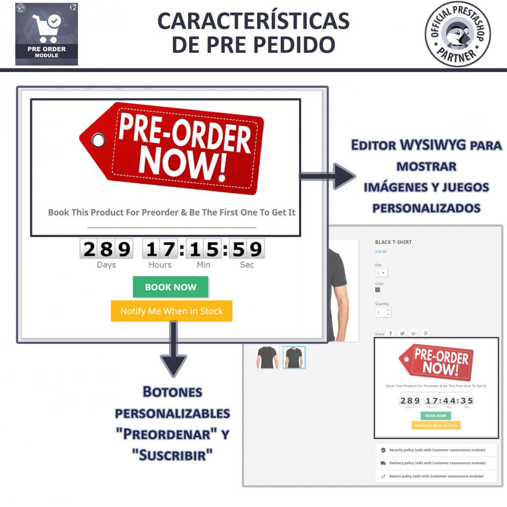 module - Inscripción y Proceso del pedido - Pre-Order - Advance Booking | Out of Stock Selling - 4