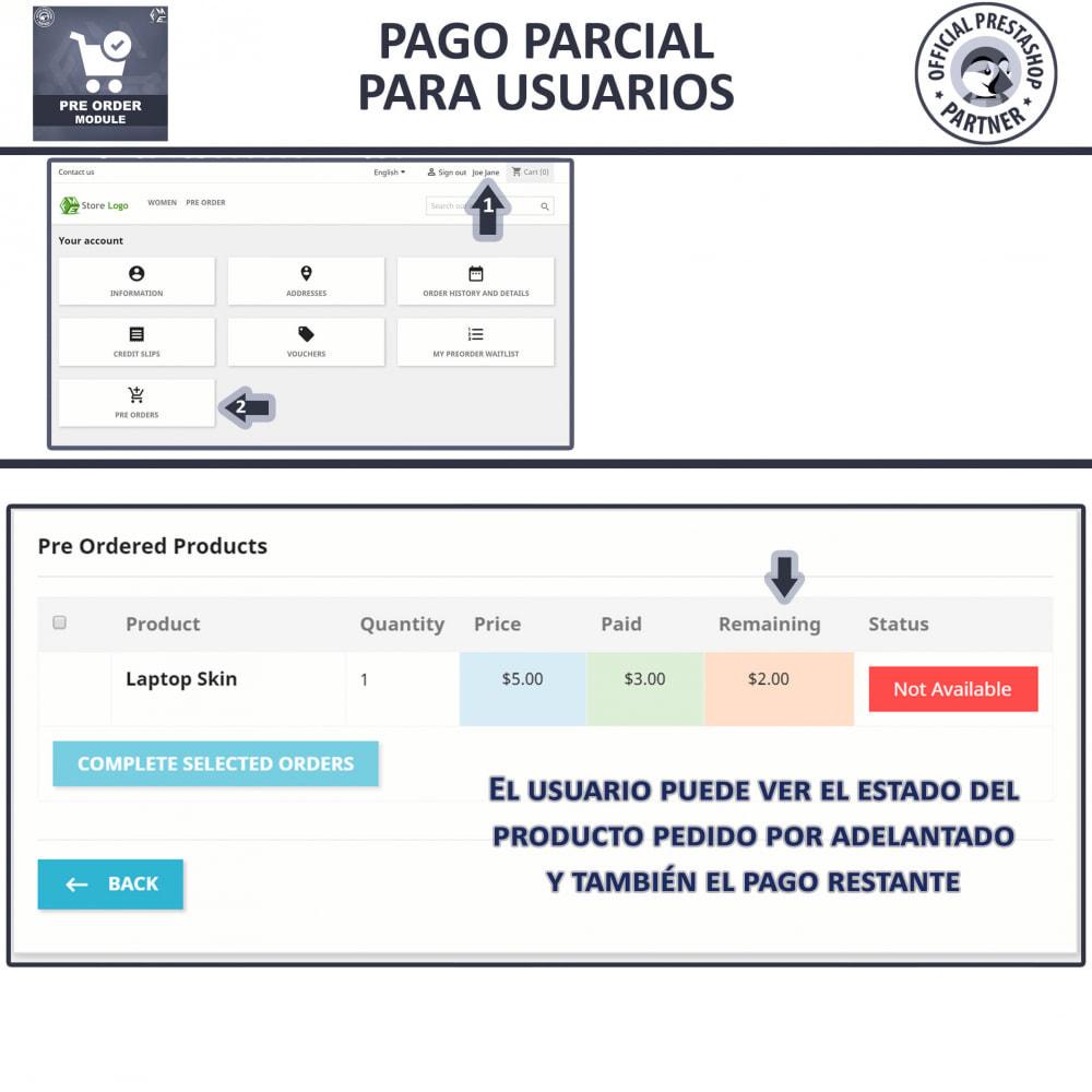 module - Inscripción y Proceso del pedido - Pre-Order - Advance Booking | Out of Stock Selling - 8