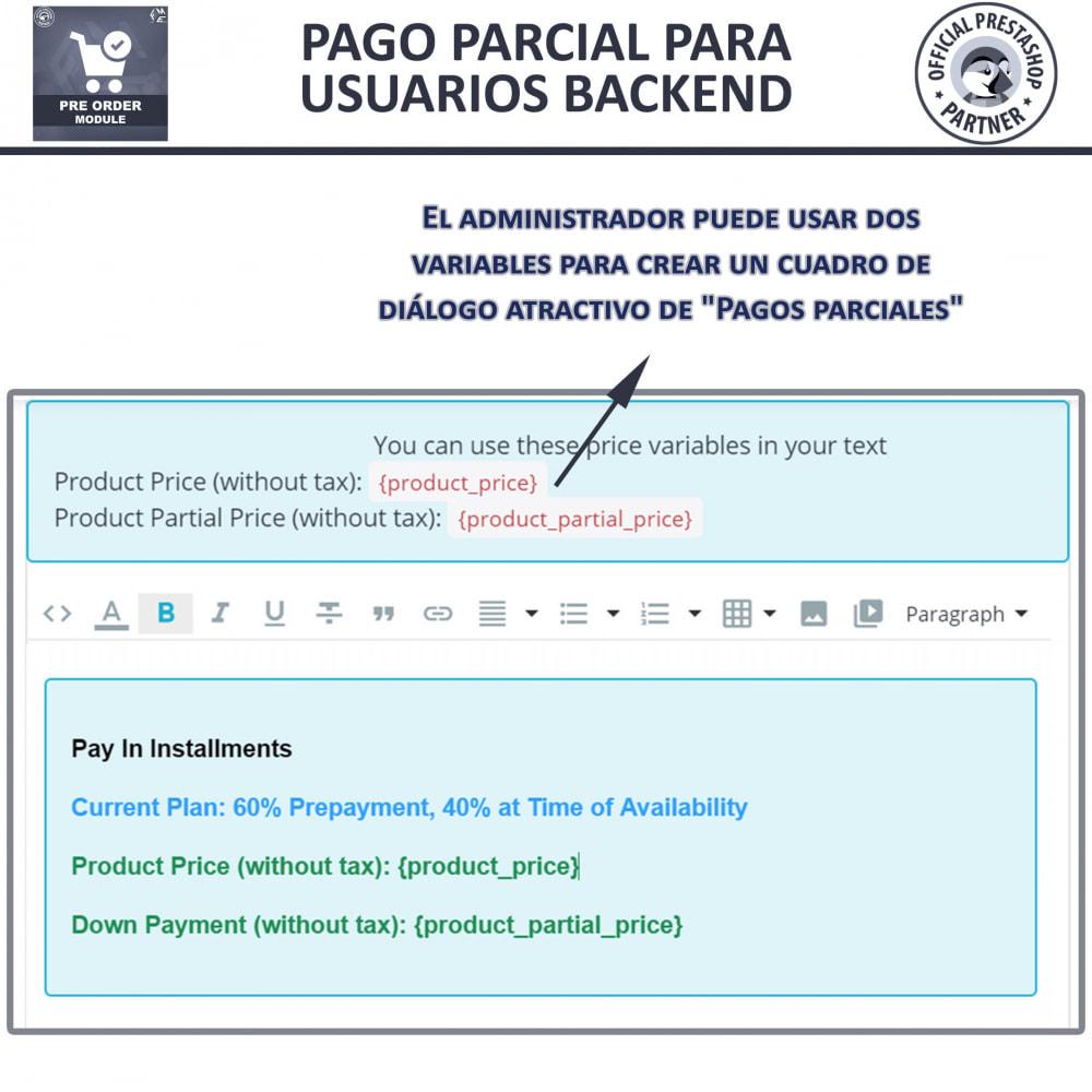 module - Inscripción y Proceso del pedido - Pre-Order - Advance Booking | Out of Stock Selling - 12