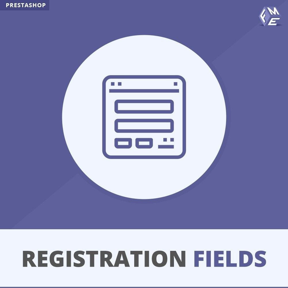 module - Registratie en Proces van bestellingen - Aangepaste Registratievelden-Validatie Van Registratie - 1
