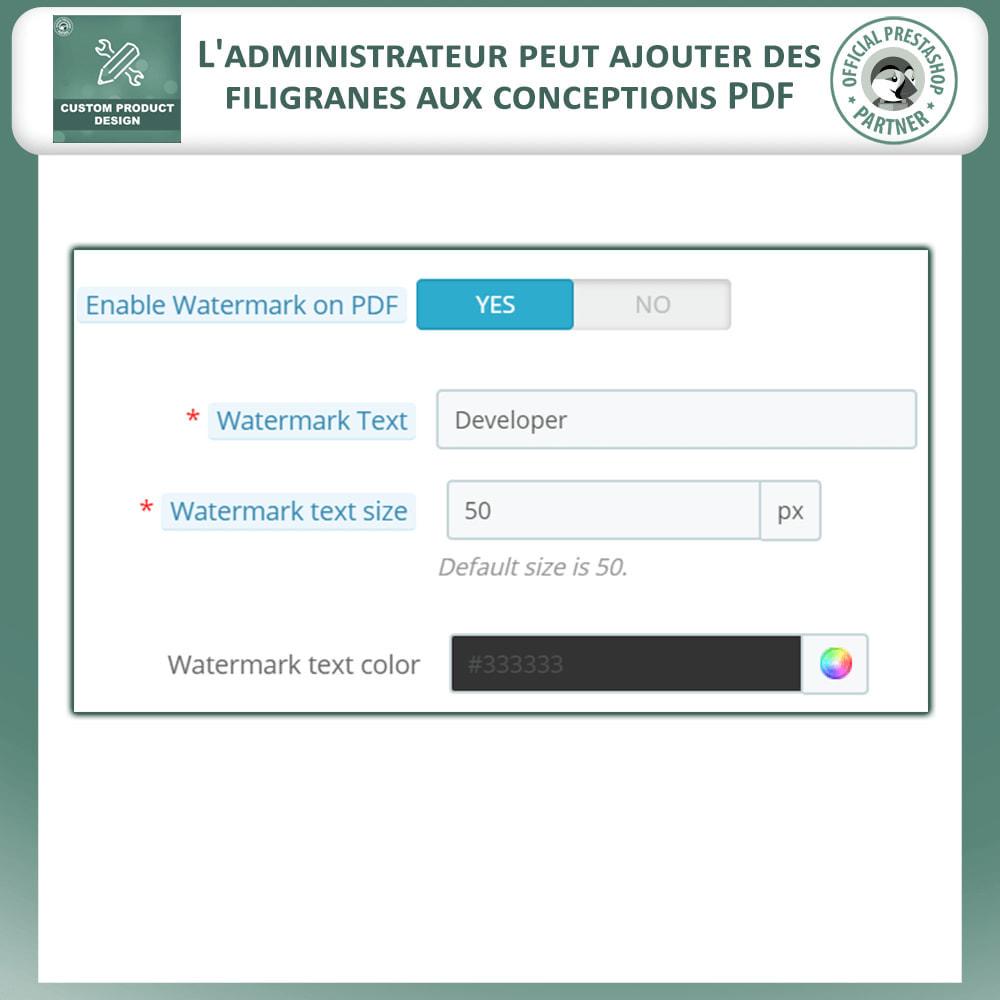 module - Déclinaisons & Personnalisation de produits - Concepteur de produits personnalisés - 13