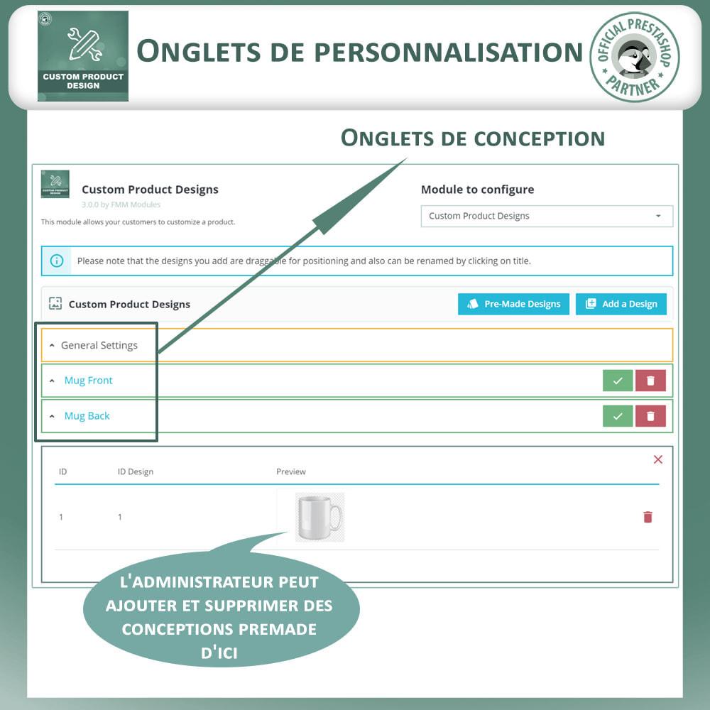 module - Déclinaisons & Personnalisation de produits - Concepteur de produits personnalisés - 16