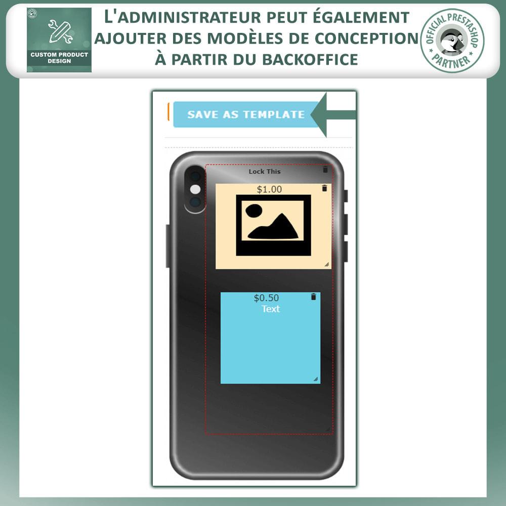 module - Déclinaisons & Personnalisation de produits - Concepteur de produits personnalisés - 18