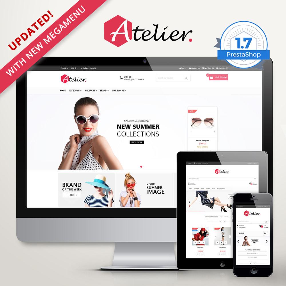 theme - Moda y Calzado - Atelier Fashion Multipurpose HTML5 - 1
