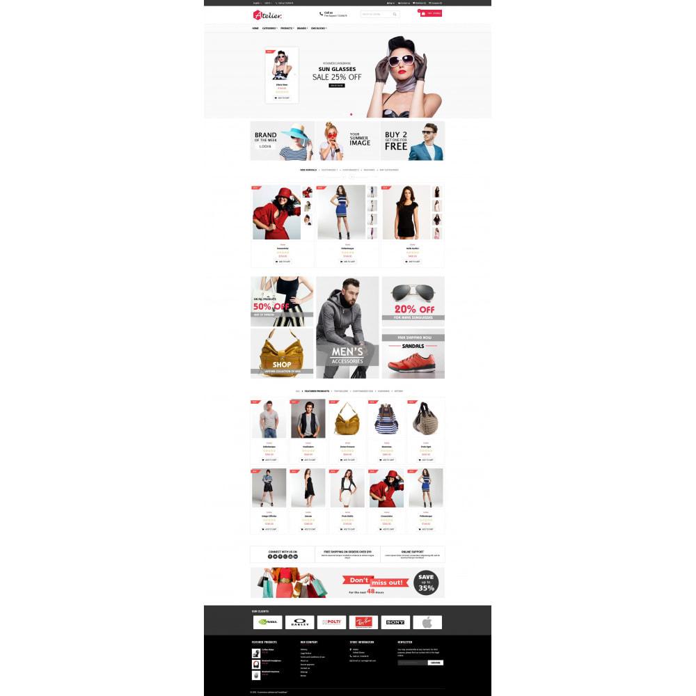 theme - Moda y Calzado - Atelier Fashion Multipurpose HTML5 - 2
