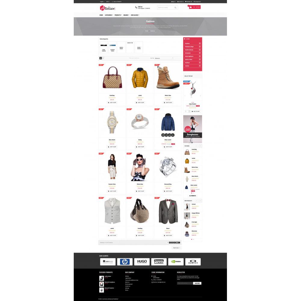 theme - Moda y Calzado - Atelier Fashion Multipurpose HTML5 - 3