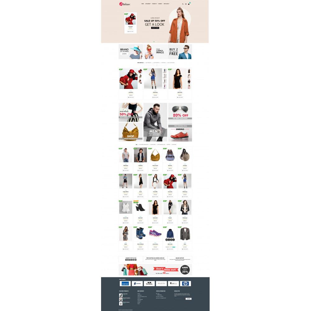 theme - Moda y Calzado - Atelier Fashion Multipurpose HTML5 - 6