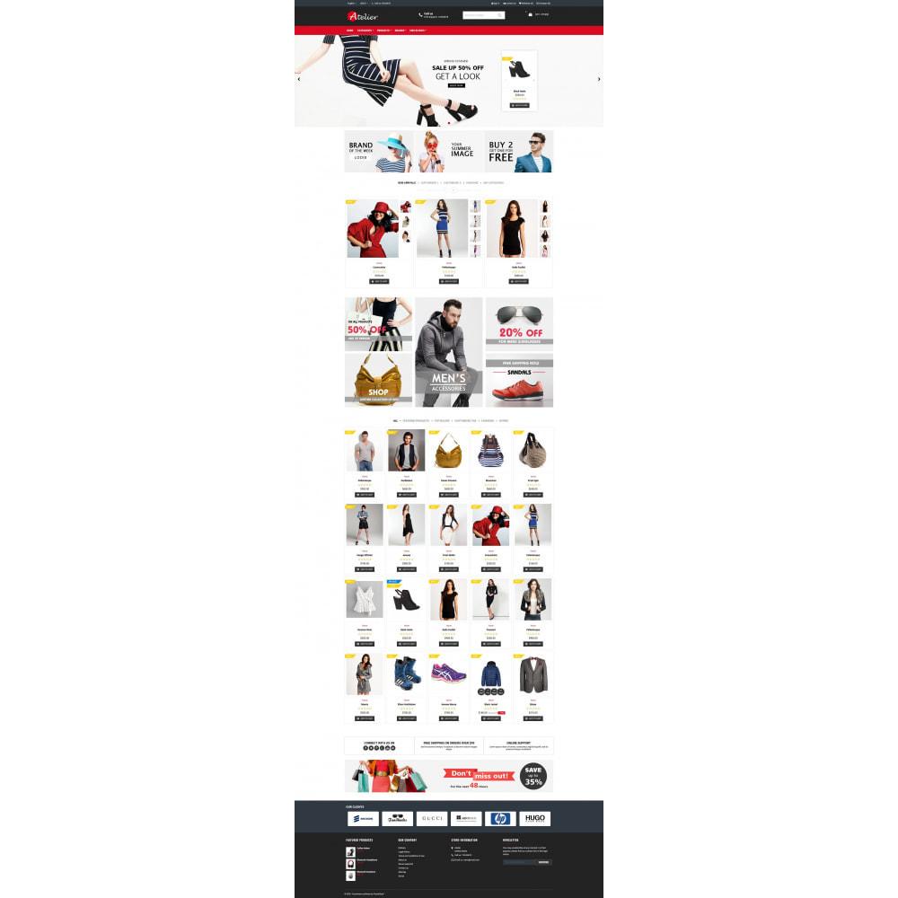 theme - Moda y Calzado - Atelier Fashion Multipurpose HTML5 - 8
