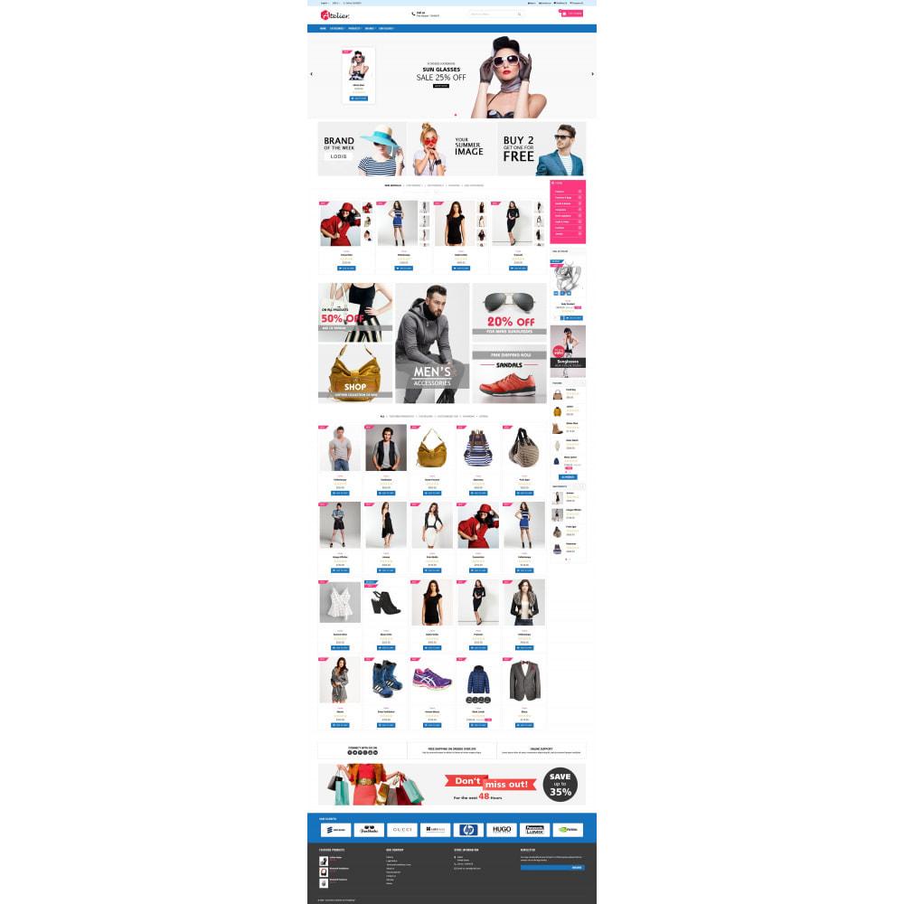 theme - Moda y Calzado - Atelier Fashion Multipurpose HTML5 - 9