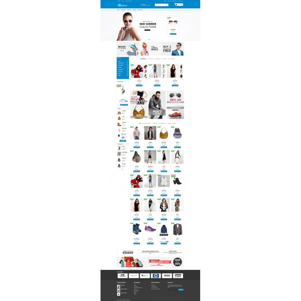 theme - Moda y Calzado - Atelier Fashion Multipurpose HTML5 - 10
