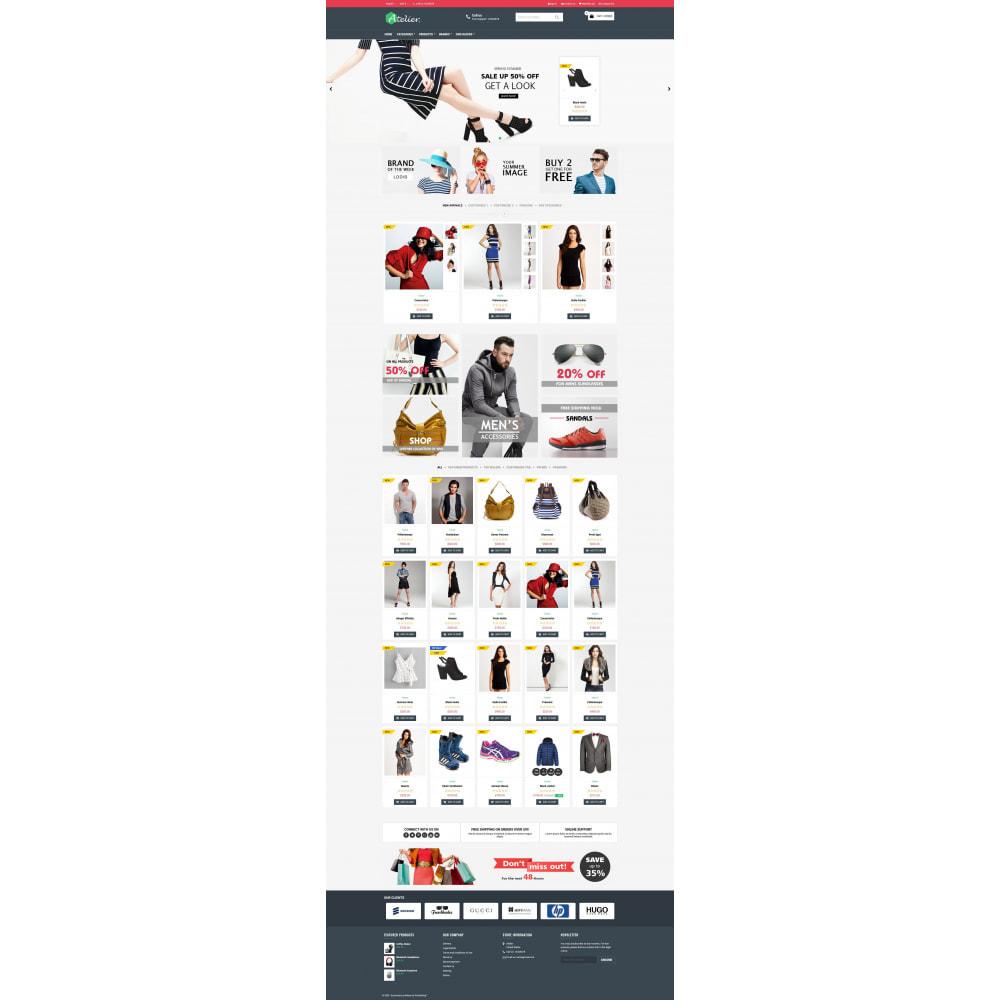 theme - Moda y Calzado - Atelier Fashion Multipurpose HTML5 - 11