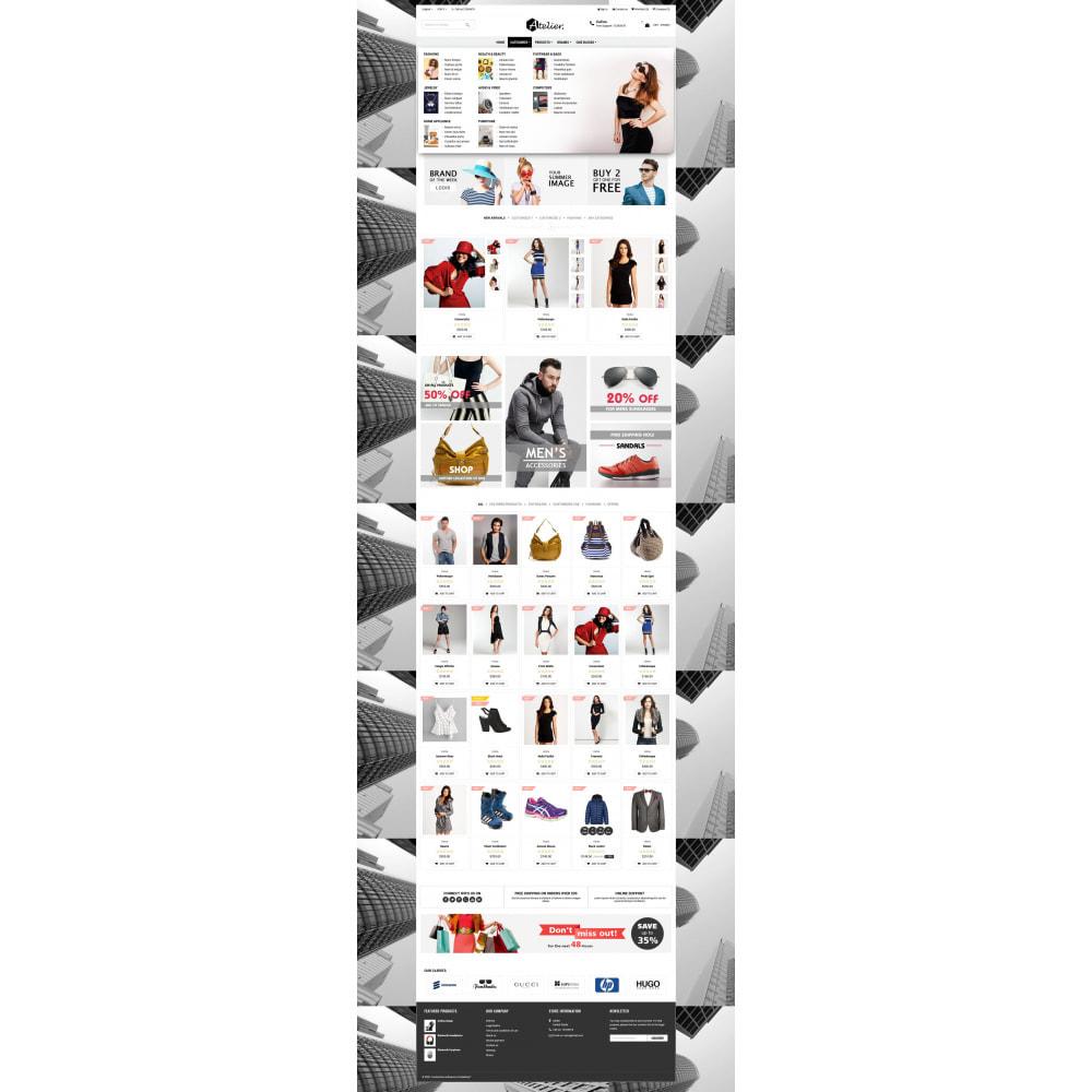 theme - Moda y Calzado - Atelier Fashion Multipurpose HTML5 - 12
