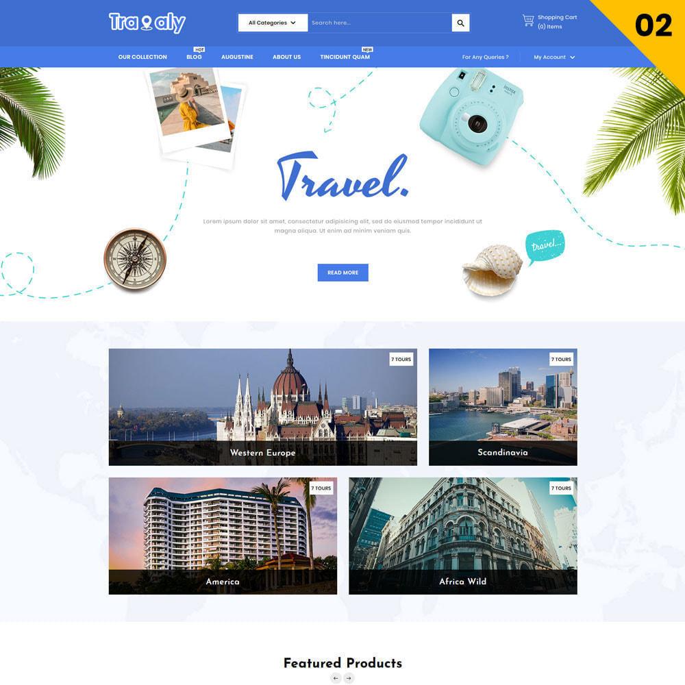 theme - Спорт и Путешествия - Travaly  -The Tourism Store - 4
