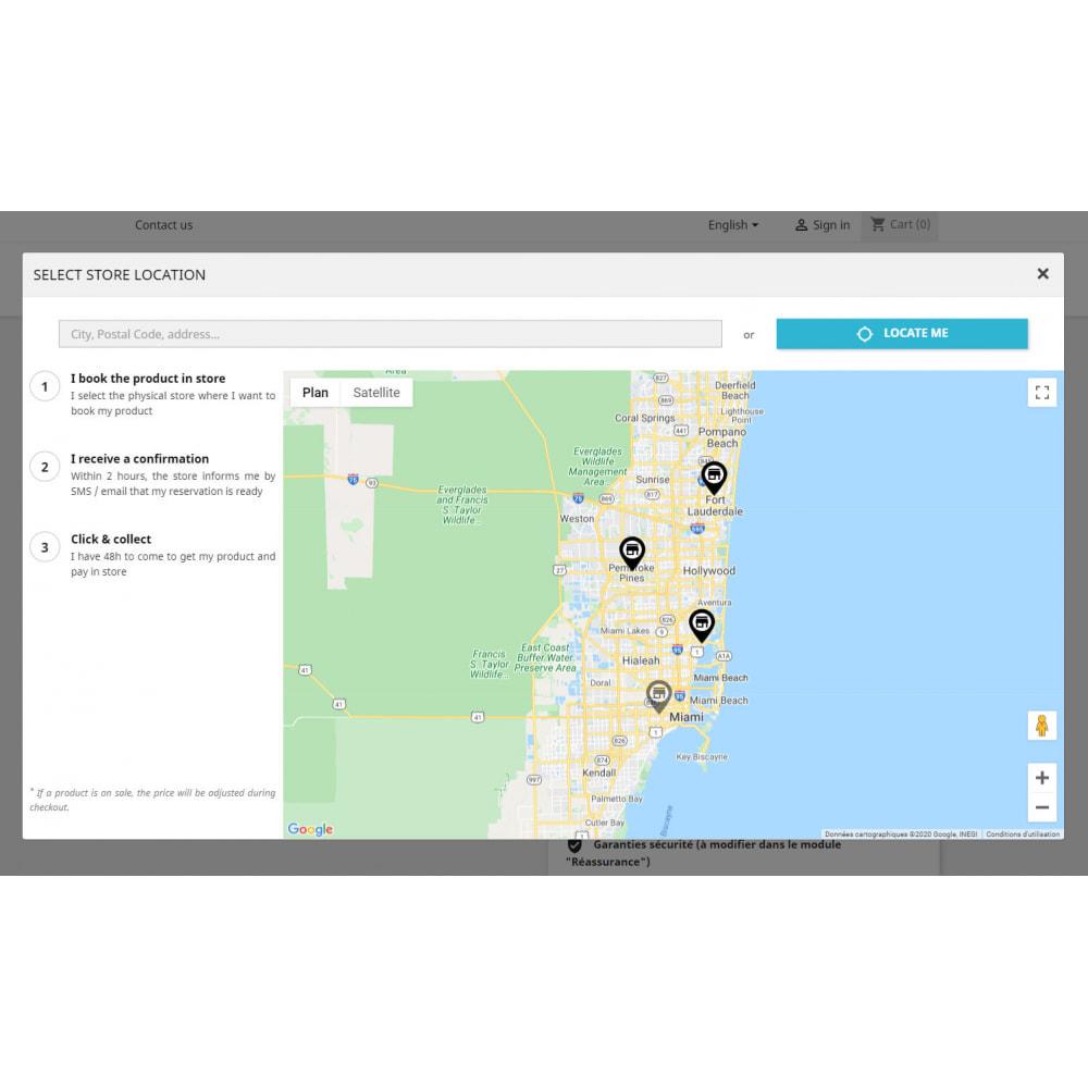 module - запасов и поставщиков - Click & Collect Advanced / E-Reservation - 2