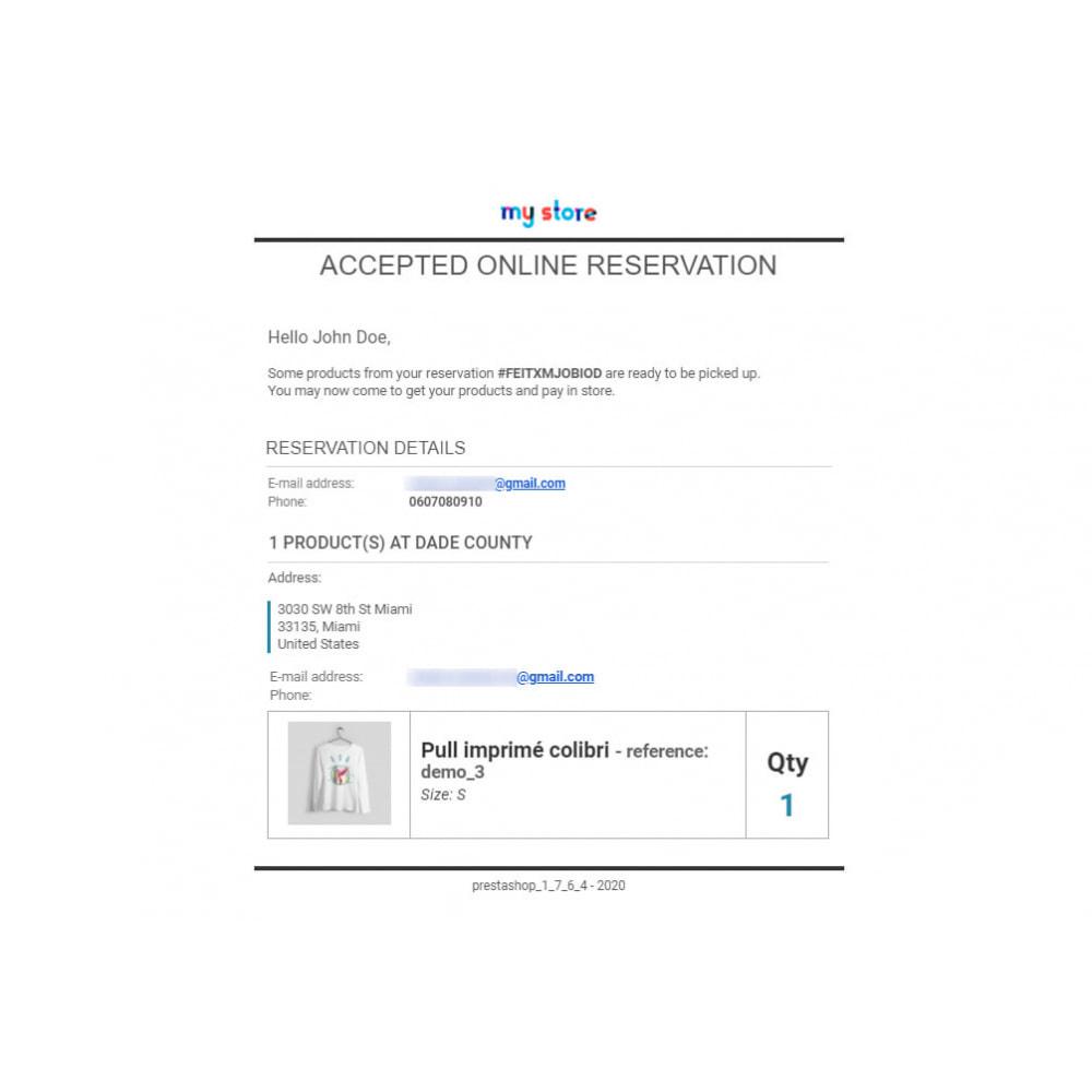 module - запасов и поставщиков - Click & Collect Advanced / E-Reservation - 8
