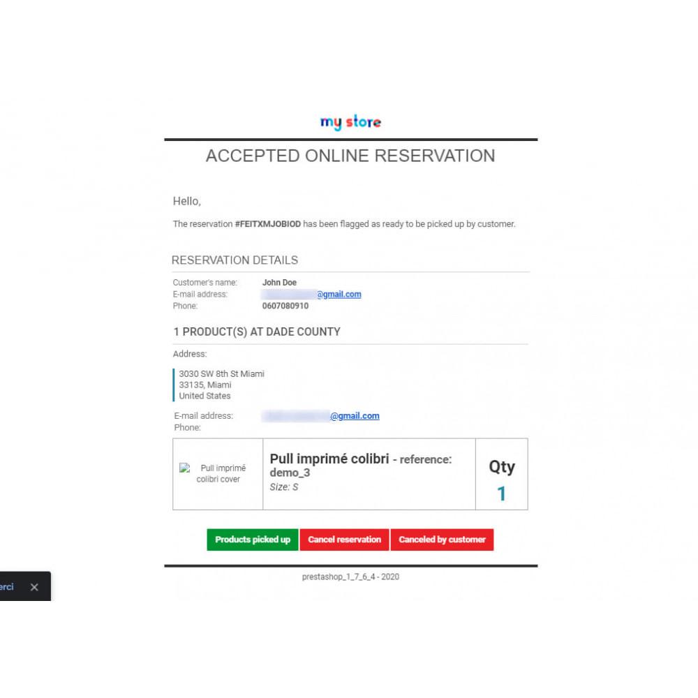 module - запасов и поставщиков - Click & Collect Advanced / E-Reservation - 9