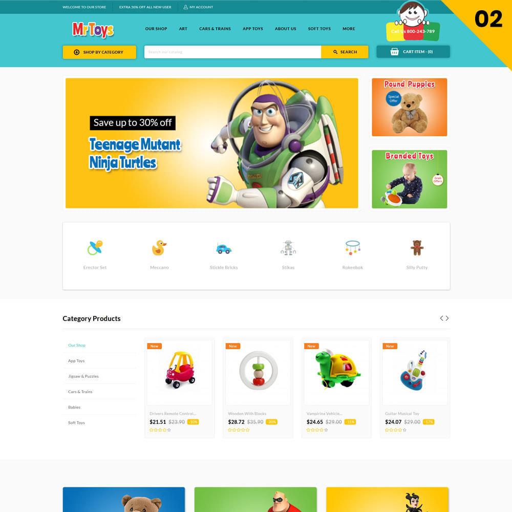 theme - Niños y Juguetes - Mr Toys - La tienda de juguetes - 5