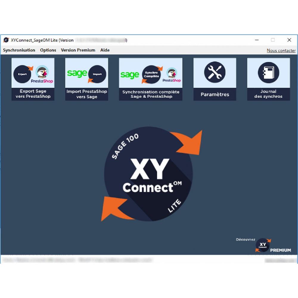 module - Connexion à un logiciel tiers (CRM, ERP...) - XY-Connect Lite - Sage 100 Gestion Commerciale - 1