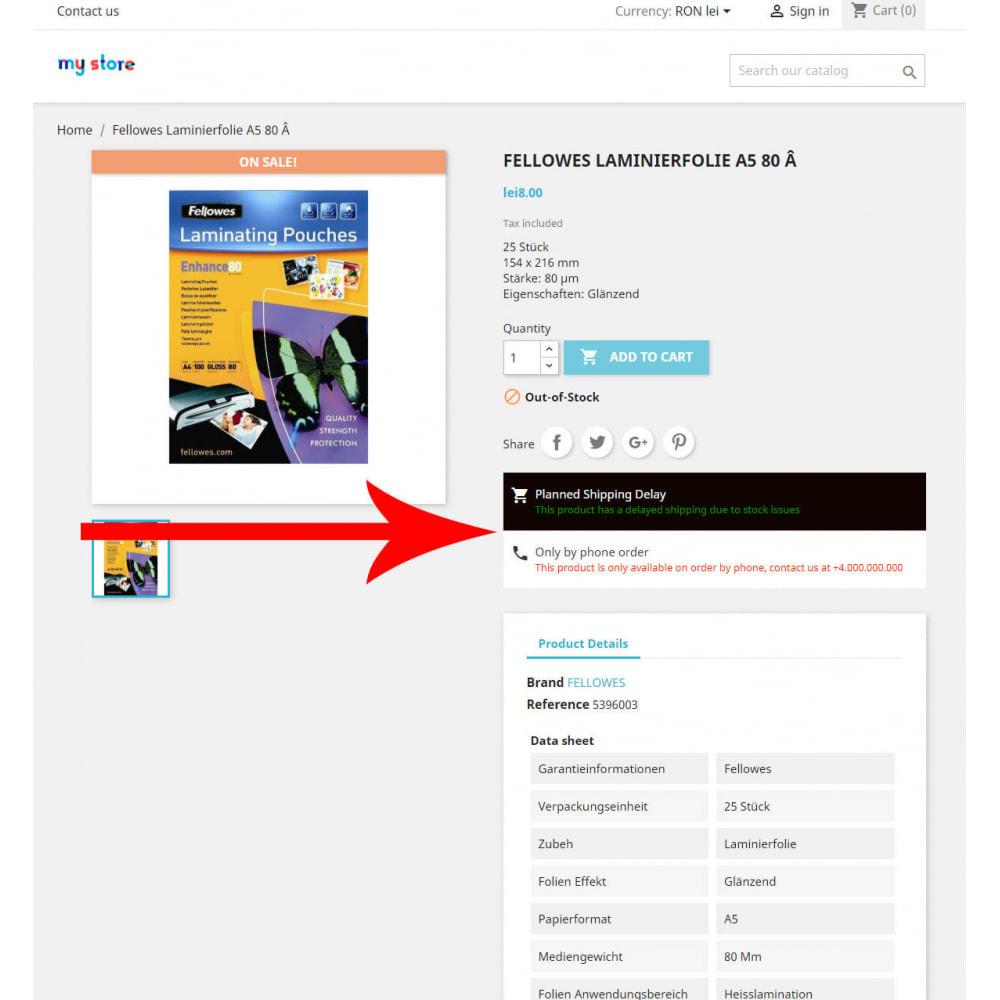 module - Tracciamento Spedizione - Easy Product Information & Status - 1