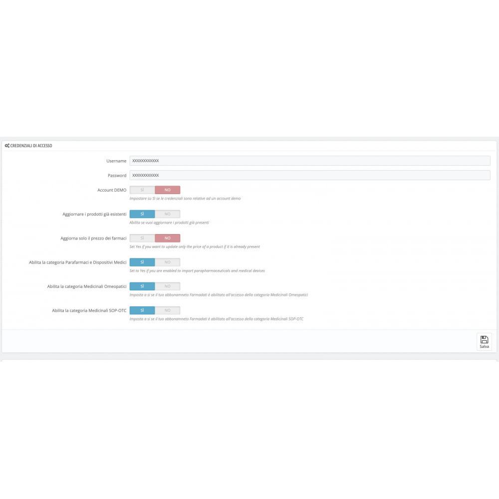 module - Importeren en Exporteren van data - Importazione FarmaDati - Massivo - 6